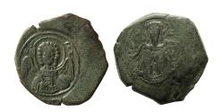 Ancient Coins - BYZANTINE EMPIRE. Isaac II Angelus. 1185-1195 AD. Æ Tetrateron.