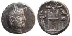 Ancient Coins - KINGS of PERSIS. Vadfradad (Autophradates) II. 200-150 BC. AR Tetradrachm. Lovely example !