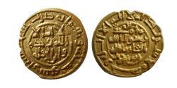 World Coins - ISLAMIC DYNASTS. Saffarid, Khalaf Bin Ahmad, 370-393 AH. Gold fractional dinar. Sijistan, 390 AH.