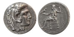 Ancient Coins - KINGS of MACEDON, Alexander III. 336-323 BC. AR Tetradrachm. Babylon mint.