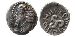 Ancient Coins - KINGS of PERSIS. Pakor I. 1st century AD. AR Hemidrachm.