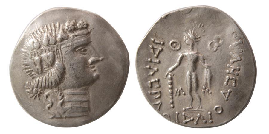 Eastern europe danube region imitation of thasos ca 2nd 1st eastern europe danube region imitation of thasos ca 2nd 1st century bc silver tetradrachm publicscrutiny Images