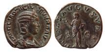 Ancient Coins - ROMAN EMPIRE. Otacilia Severa (Augusta). AD. 244-249. AE Sestertius.