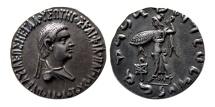 BAKTRIA, Indo-Greek Kingdom, Apollodotus II. Ca. 80-65 BC. AR Tetradrachm. Lovely strike.