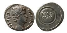Ancient Coins - ROMAN EMPIRE. Augustus. 27 BC-14 AD. AR Denarius. Rare.