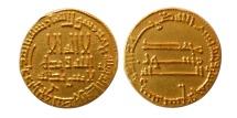 World Coins - ABASSID. temp. al-Mahdi. 158-169 H./ 775-785 AD. Gold Dinar.