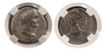 Ancient Coins - ROMAN EMPIRE. Vespasian. 69-79 AD. AR Tetradrachm. Antioch mint.