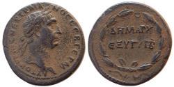 Ancient Coins - SYRIA, Seleucis and Pieria. Antioch. Trajan, 98-117. Æ As.