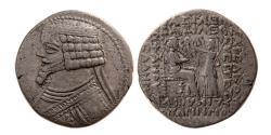 Ancient Coins - KINGS of PARTHIA. Phraates IV. AR Tetradrachm. Seleukeia on the Tigris,  Ex. Fred Shore's Collection