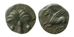 Ancient Coins - ZEUGITANA, Carthage. Circa 400-350 BC. Æ unit.