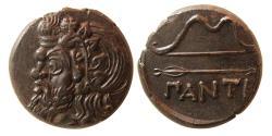 Ancient Coins - BOSPOROS. Pantikapaion. Circa 340-325 BC. Æ24. Choice Superb. Wonderful example.