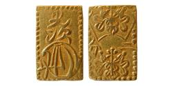 World Coins - JAPAN, Mutsuhito. Circa 1860s. Gold 2 Bu .
