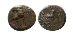 Ancient Coins - KINGS of PARTHIA, Orodes II. Æ . Victory type. Rare.