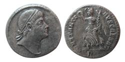 Ancient Coins - ROMAN EMPIRE. Constantine II. As Caesar, AD 316-337. AR Siliqua. Rare.