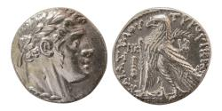 "Ancient Coins - PHOENICIA, Tyre. 126/5 BC-AD 65/6. Silver Shekel. CY 28 (99/8 BC).  ""Almost as Struck"". Great Example"