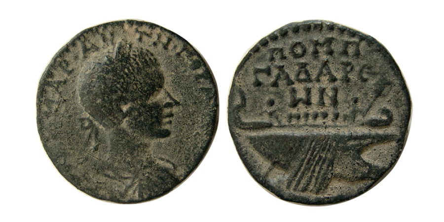 Ancient Coins - SYRIA, Decapolis. Gadara. Gordian III. AD 238-244. Æ 23mm.