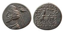 Ancient Coins - KINGS OF PARTHIA. Phraates IV. 38-2 BC. AR Drachm. Laodicea mint.