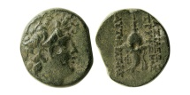 Ancient Coins - SELEUKID KINGDOM. Diodotos Tryphon. Ca. 142-138 BC. Æ.