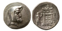 Ancient Coins - KINGS of PERSIS. Autophradates I. 3rd Century BC. Silver Tetradrachm. Rare. From The Sunrise Collection.