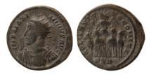 Ancient Coins - ROMAN EMPIRE. Maximinus II Daza. AD. 310-313. BI Argenteus. Scarce.