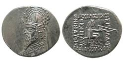 Ancient Coins - KINGS of PARTHIA. Sinatrukes. 93-69 BC. AR Drachm.