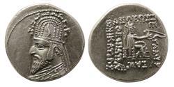 Ancient Coins - KINGS of PARTHIA. Sinatrukes (93/2-70/69 BC). AR Drachm. Lustrous.