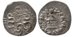 Ancient Coins - MYSIA, Pergamon. Ca. 133-67 BC. AR Cistophoric Tetradrachm. Lovely Strike.