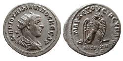 Ancient Coins - SYRIA, Seleucis and Pieria. Philip II. 247-249 AD. Billon Tetradrachm.