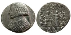 Ancient Coins - KINGS of PARTHIA. Phraates IV. 38-2 BC. AR Tetradrachm. Seleukeia on the Tigris mint. Dated 275 SE (37 BC).