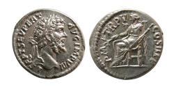 Ancient Coins - ROMAN EMPIRE. Septimus Severus. AD. 193-211. Silver Denarius. Lovely strike.