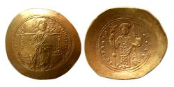 Ancient Coins - BYZANTINE EMPIRE. Constantine X Ducas, 1059-1067. Gold Histamenon.