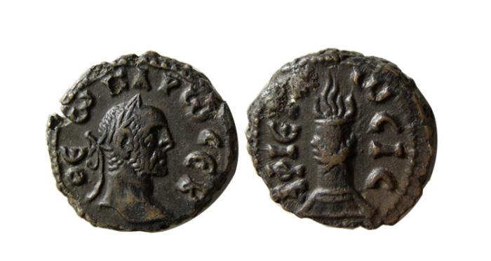 Ancient Coins - EGYPT, Alexandria. Divus Carus. Died AD 283. BI Tetradrachm