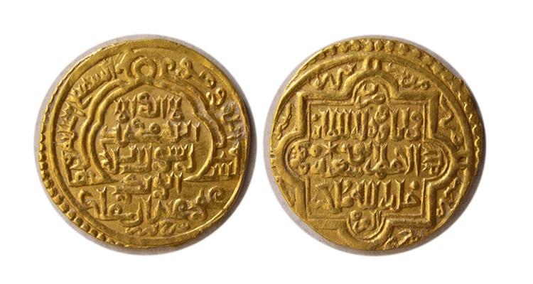 World Coins - ILKHANID. Abu Saeed. 716-736 AH./ 1316-1335 AD. Gold Heavy Dinar. Rare.