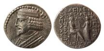 Ancient Coins - KINGS of PARTHIA. Vardanes I. Circa AD 38-46. AR Tetradrachm.
