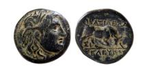 Ancient Coins - SELEUKID KINGS, Seleukos I. 312-280 BC. Æ 14mm.