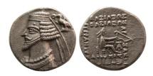 KINGS OF PARTHIA. Phraates IV. 38/7-2 BC. AR Drachm .