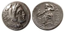 Ancient Coins - KINGS of MACEDON. Alexander III. 336-323 BC. AR Tetradrachm. Amphipolis mint. Struck under Philip III
