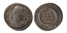 Ancient Coins - ROMAN EMPIRE, Constantius II. 337-361 AD. AR Siliqua. Lovely strike. Choice Superb EF.