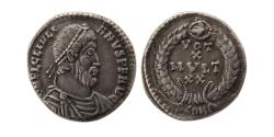 Ancient Coins - ROMAN EMPIRE. Julian II. AD. 360-363. AR Siliqua. Arelate (Arles) mint.
