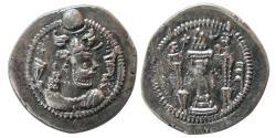 Ancient Coins - SASANIAN KINGS. Peruz (Firuz) I. AD. 457/9-484. AR Drachm.