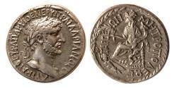 Ancient Coins - CILICIA, Tarsus. Hadrian. 117-138 AD. Silver Tridrachm. Rare.