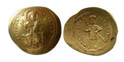 Ancient Coins - BYZANTINE EMPIRE. Isaac I Comnenus. 1057-1059. Gold Histamenon Nomisma.