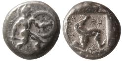 Ancient Coins - PAMPHYLIA, Aspendos. Circa mid 5th. Century BC. AR Stater.