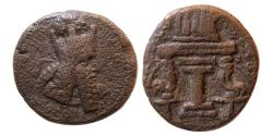 Ancient Coins - SASANIAN KINGS. Ardashir I. 224-241 AD. AE Unit. Rare.