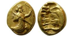 Ancient Coins - ACHAEMENID EMPIRE. temp. Xerxes II to Artaxerxes II. Circa 420-375 BC. Gold Daric. Rare.