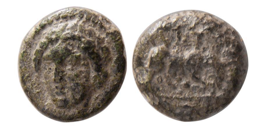 Ancient Coins - IONIA, Miletos. Circa 260-220 BC. Æ.