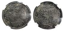 World Coins - SWITZERLAND, Zurich. 1741. Taler (40mm). NGC AU55.