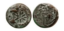 Ancient Coins - CIMMERIAN BOSPOROS. Pantikapaion. Circa 310-304 BC. Æ21.