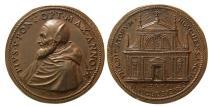 World Coins - ITALY, The Papacy. Pius V (Antonio Ghislieri). 1566-1572 AD. Æ Medal.