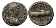 Ancient Coins - EGYPT, Alexandria. Hadrian. 117-138 AD. BI Tetradrachm. Year 12= AD. 127-128.